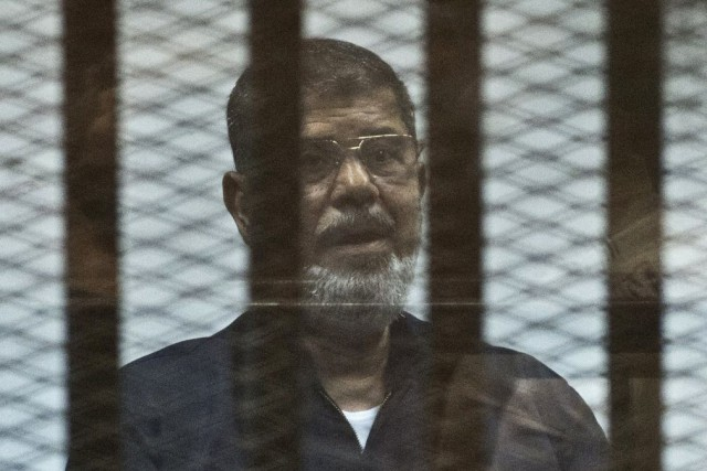Mohamed Morsi... (PHOTO KHALED DESOUKI, AFP)