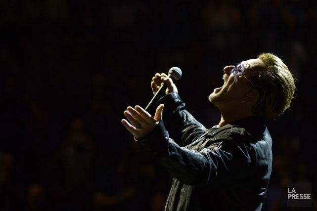 Le chanteur Bono... (Archives La Presse)