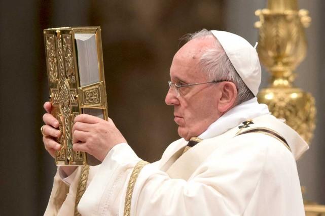 Le pape François...