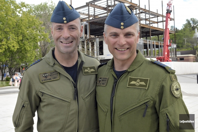 Le colonel Darcy Solstad commandant désigné de Bagotville,... ((Photo Le Quotidien-Rocket Lavoie))
