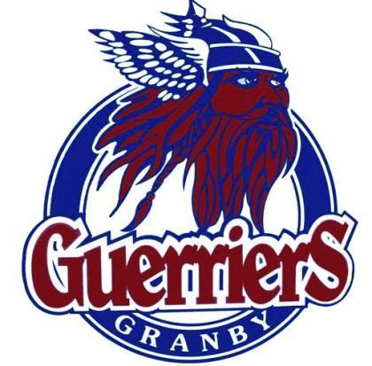 Les Guerriers junior élite ont encaissé un sixième... (logo des guerriers)