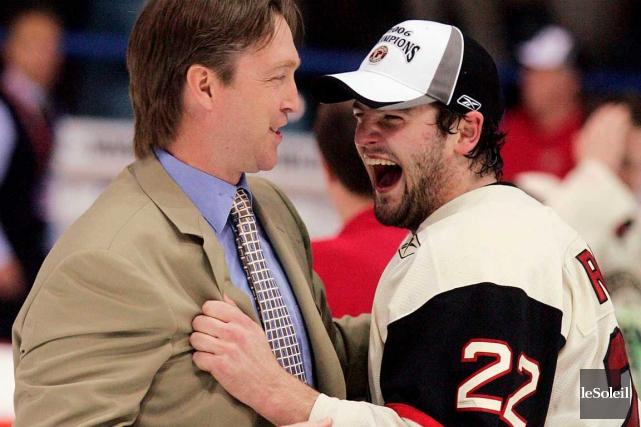 En 2006, Patrick Roy, alors entraîneur des Remparts,... (Photothèque Le Soleil)