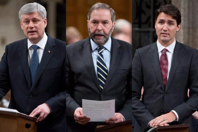 Si les conservateurs ont éclipsé les autres partis... (PHOTOS ARCHIVES LA PRESSE CANADIENNE)