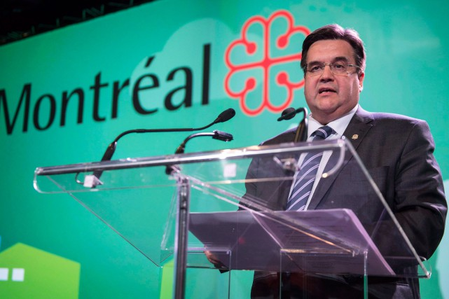 Le maire de Montréal, Denis Coderre.... (Photo Paul Chiasson, La Presse Canadienne)