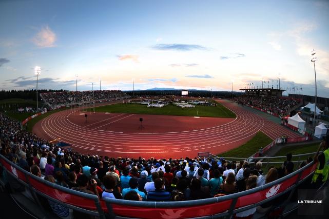 Sherbrooke pourrait accueillir les Jeux de la Francophonie en 2021. Après le... (Archives La Tribune)