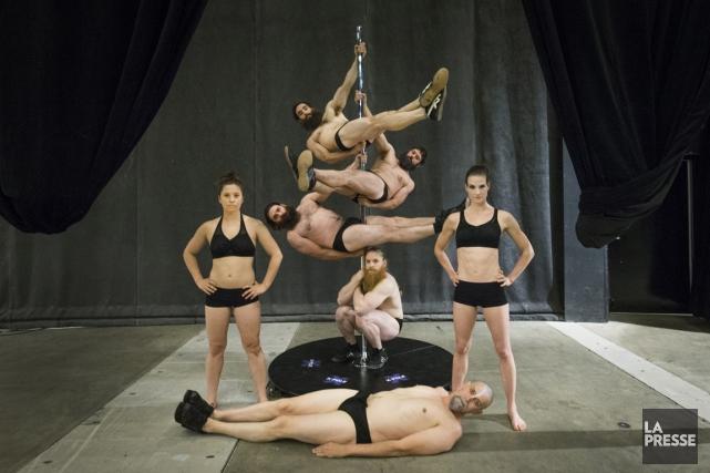 Le succès deBarbu,ce cabaret acrobatique du Cirque Alfonse créé l'an... (Photo Ivanoh Demers, La Presse)