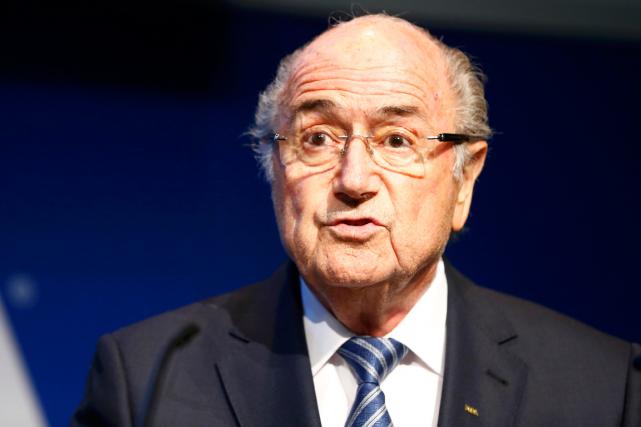 Le président de la FIFA, Joseph Blatter.... (Photo Ruben Sprich, Reuters)