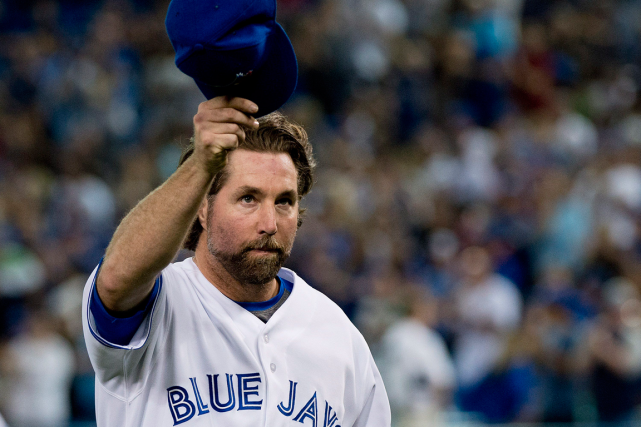 R.A. Dickey... (Photo Nathan Denette, PC)