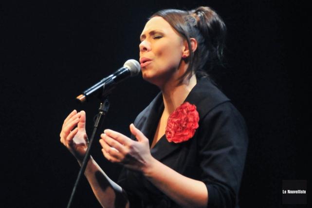 Fabiola Toupin... (Émilie O'Connor, Le Nouvelliste)