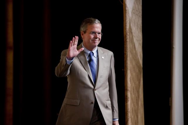 Le candidat aux primaires républicaines pour la présidentielle... (PHOTO PABLO MARTINEZ MONSIVAIS, AP)