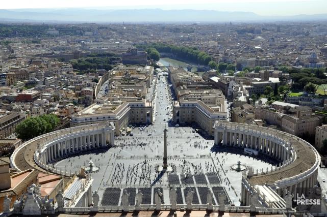 Du haut de la coupole de la basilique,... (Photothèque La Presse)