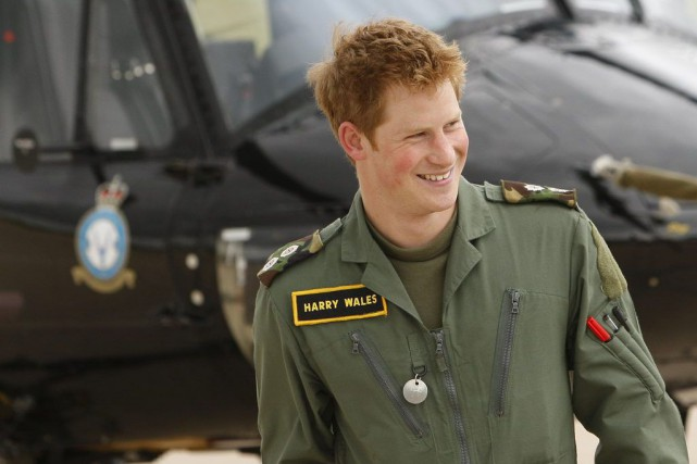 «Captain Wales», son titre militaire, «a eu une... (Photo Kirsty Wigglesworth, Archives AP)