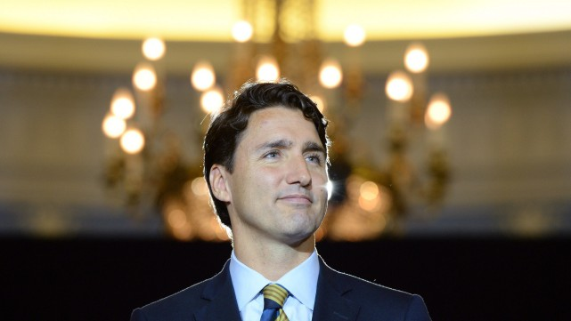 Justin Trudeau privilégie le vote alternatif, mais formerait... (PHOTO SEAN KILPATRICK, LA PRESSE CANADIENNE)
