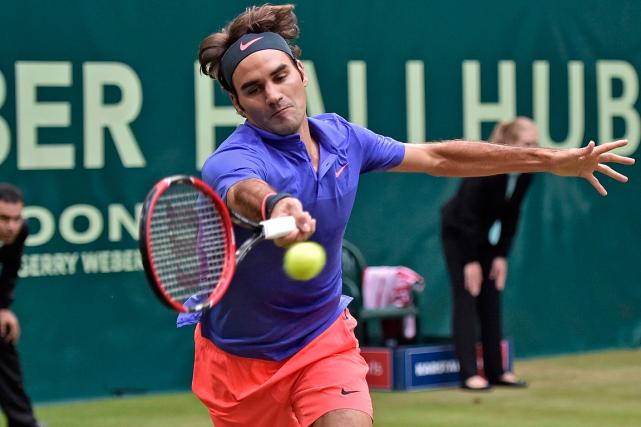 Roger Federer... (Photo Martin Meissner, AP)