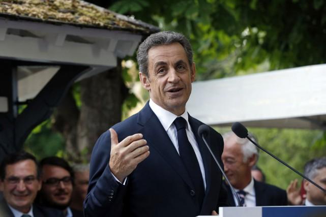 Sur le ton de l'ironie, l'ancien président avait... (PHOTO FRANCOIS GUILLOT, AFP)