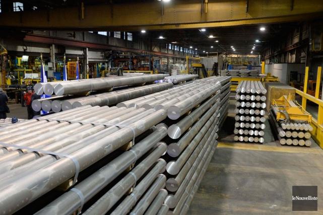La stratégie prévoit notamment la possibilité d'intégrer l'aluminium... (PHOTO SYLVAIN MAYER, ARCHIVES LE NOUVELLISTE)