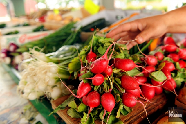 L'idée d'offrir un marché pour les produits locaux... (Photo Archives La Presse)