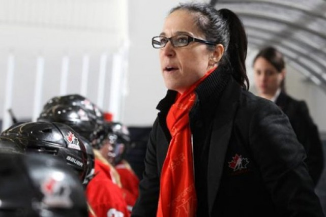 Laura Schuler... (Photo fournie par Hockey Canada)