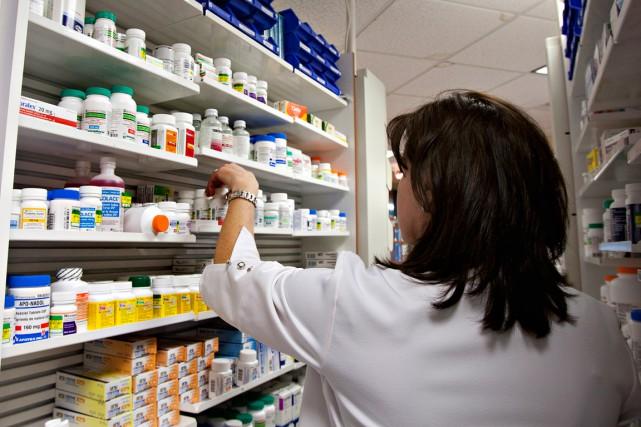 Les pharmaciens seront rémunérés pour quatre des sept... (Archives La Presse canadienne)