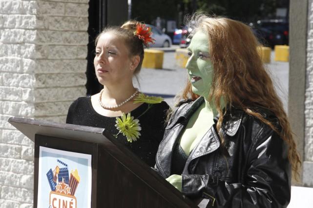 Les animatrices de Mutation Création divertiront les enfants... (photo Julie Catudal)