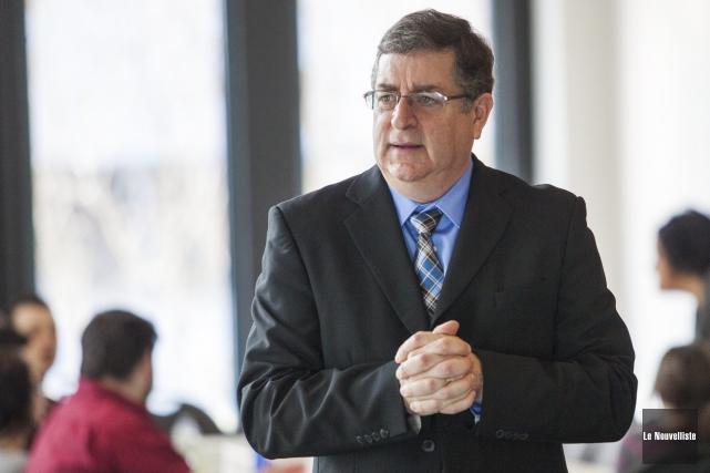 Alain Fournier témoignait devant la Commission des relations... (Photo: Olivier Croteau, Le Nouvelliste)