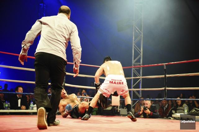Mohamed Ali, Rocky Balboa, Nicolas Martel et Stéphane... (Photo Le Quotidien, Gimmy Desbiens)