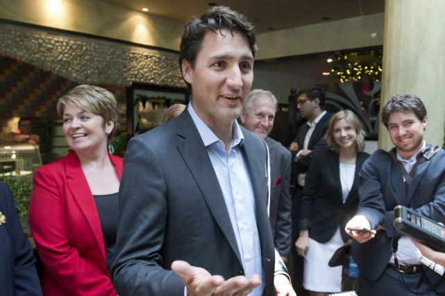 Justin Trudeau a précisé que son parti avait... (La Presse Canadienne, Ryan Remiorz)