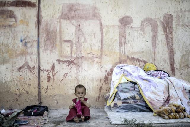 Après plusieurs jours de combat, les forces kurdes... (PHOTO BULENT KILIC, ARCHIVES AFP)