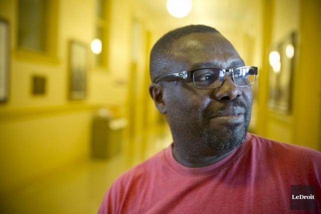 Ramses Pierre Louis, un concierge dans des immeubles... (Martin Roy, LeDroit)