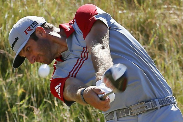 Dustin Johnson... (PHOTO MATT YORK, AP)