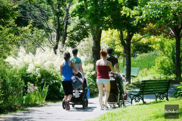 La porte-parole du SPVQ assure que les parcs... (Le Soleil, Jean-Marie Villeneuve)