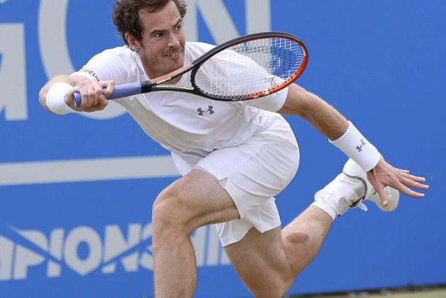 Andy Murray... (Photo Paul Childs, Reuters)