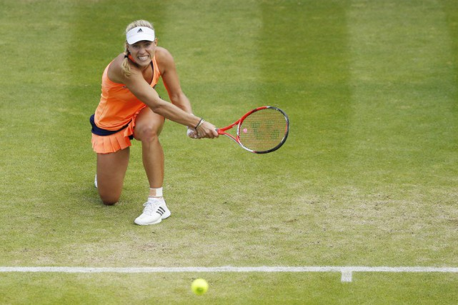 Angelique Kerber... (Photo Andrew Boyers, Reuters)