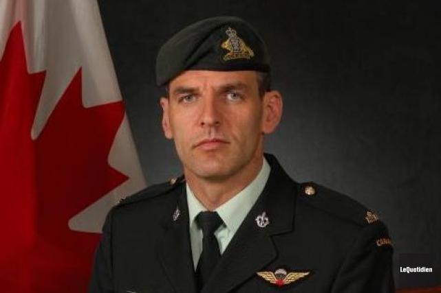 Le lieutenant-colonel Serge Lapointe, natif d'Arvida.... ((Photo Le Quotidien-Rocket Lavoie))