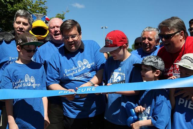 Le maire de Montréal, Denis Coderre, est le... (PHOTO ARCHIVES CNW)