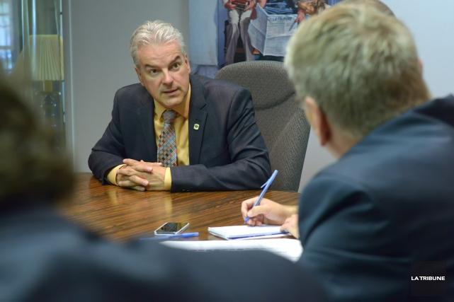 Le maire Bernard Sévigny n'exclut pas de solliciter un troisième mandat comme... (Imacom, Maxime Picard)