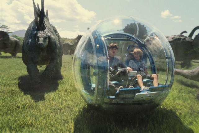 Le film Jurassic World a généré 1,52 milliard de... (Photo fournie par Universal Pictures)