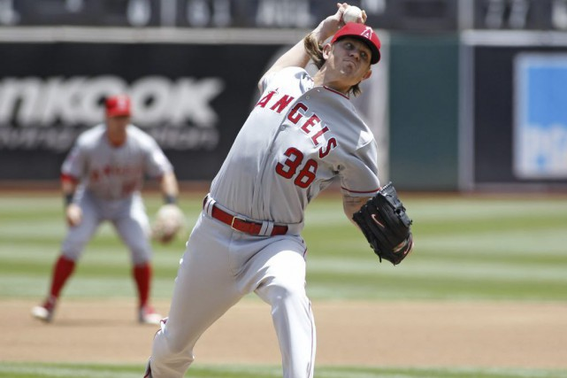 Jered Weaver... (Photo George Nikitin, AP)