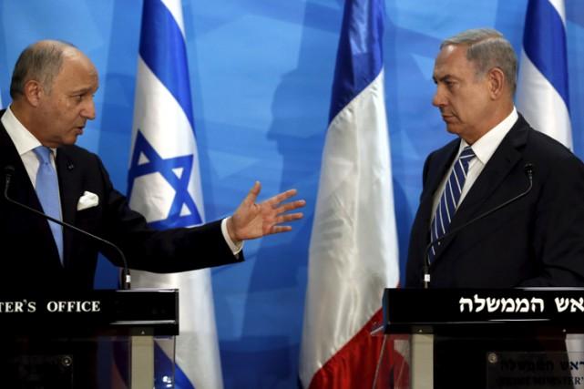 Le premier ministre israélien Benyamin Nétanyahou rencontré le... (PHOTO REUTERS)
