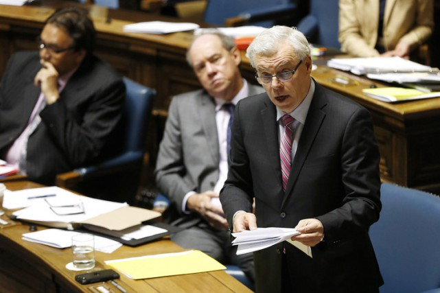 Le premier ministre du Manitoba, Greg Selinger.... (PHOTO PC)