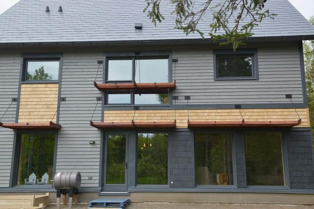 La Maison ERE 132 a été implantée sur... (Photo fournie par les jardins de métis)