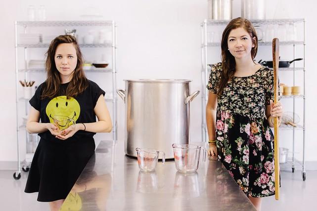 Hannah Palmer et Alexandrine Lemaire de 3/4 Oz... (Photo fournie par 3/4 oz)
