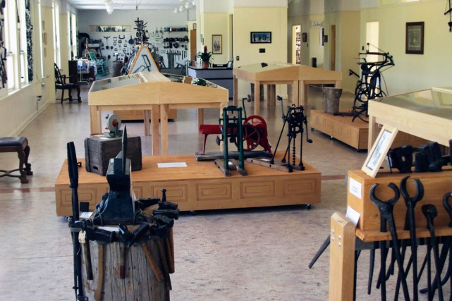 La collection d'outils de Michel Benoît compte 60... (Photo fournie par le musée d'outils anciens)