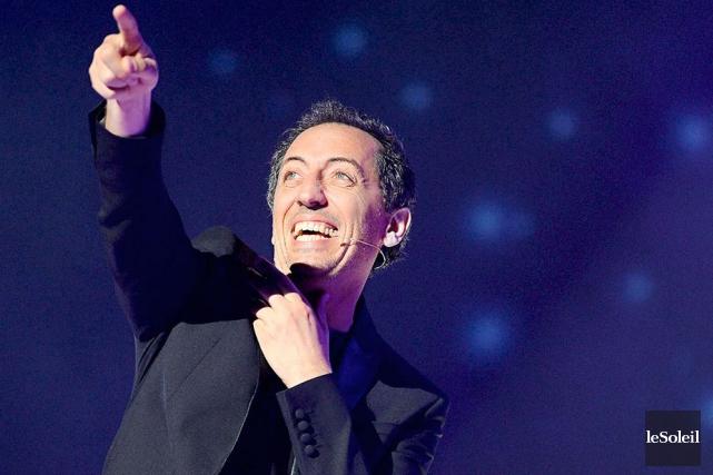 Gad Elmaleh offre un stand-up dans la pure... (Le Soleil, Erick Labbé)