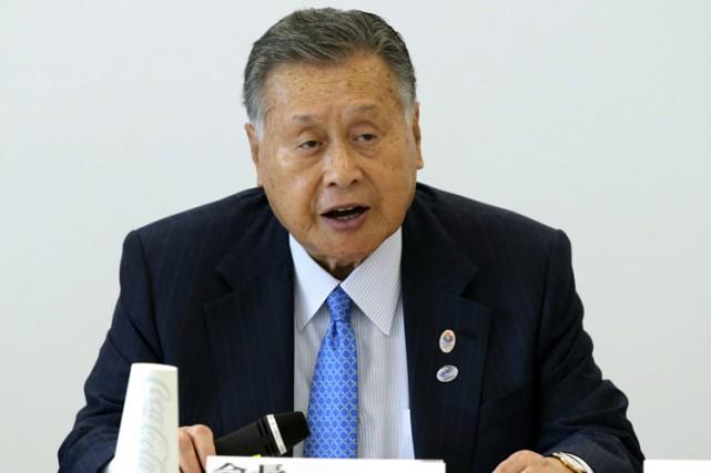 Yoshiro Mori, président du comité d'organisationdes Jeux olympiques... (PHOTO AP)
