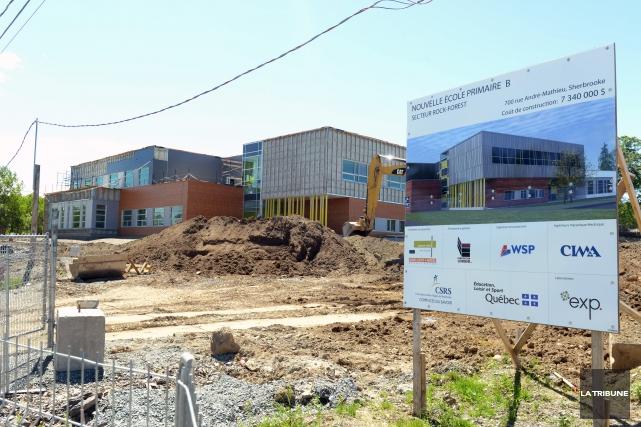 Les deux nouvelles écoles primaires de laCSRS, des... (Imacom, Maxime Picard)