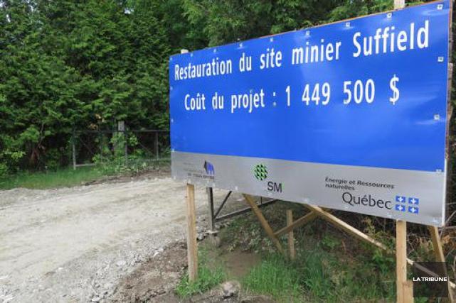 La mine Suffield, dont certaines rumeurs laissaient entendre la réouverture il... (Imacom, René Marquis)