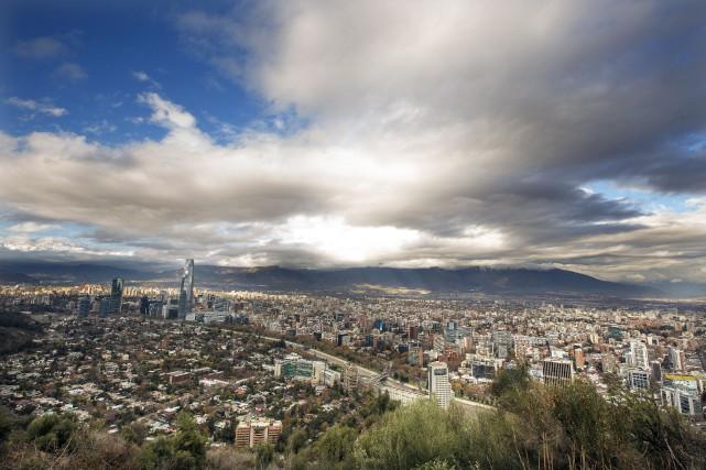 Santiago, au Chili.... (PHOTO MORTEN ANDERSEN, ARCHIVES BLOOMBERG)
