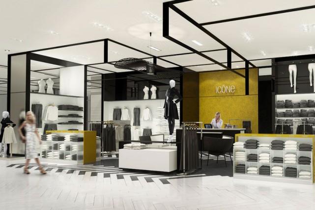 Le nouveau magasin Simons aux Promenades Gatineau ne représente qu'un autre... (Courtoisie)