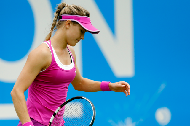 Eugenie Bouchard... (Photo Andrew Boyers, Reuters)